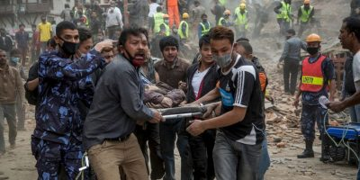 5. Mientras, la cifra de heridos alcanzó los 16 mil heridos. Foto:Getty Images
