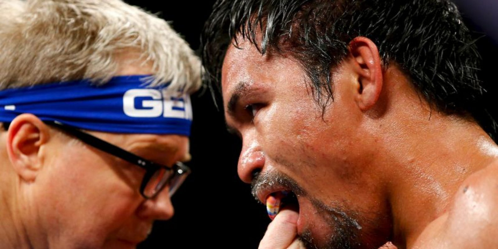 Mayweather venció a Pacquiao por decisión unánime Foto:Getty Images
