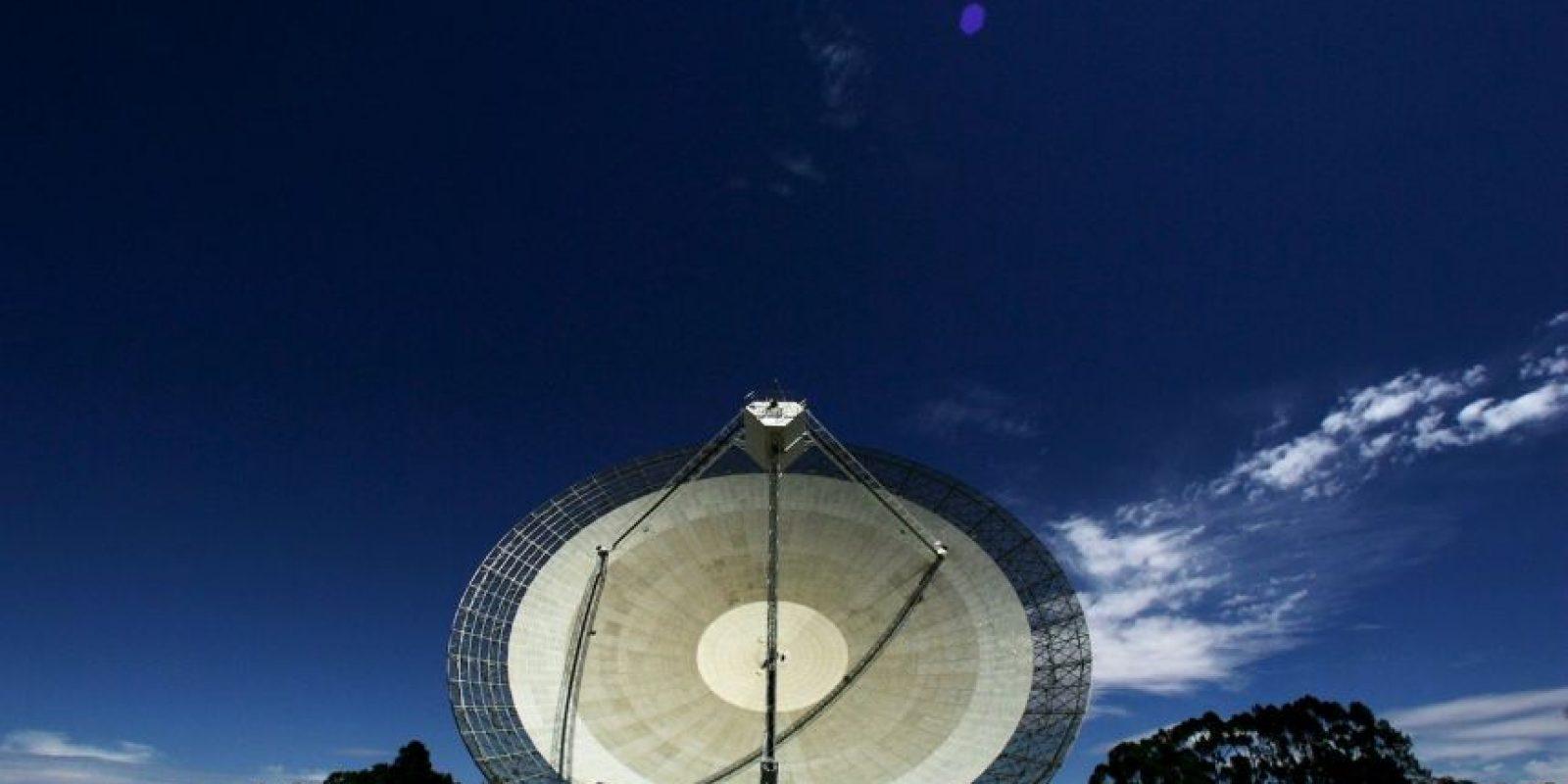 Fue una de varias antenas de radio utilizadas para recibir, imágenes en directo por televisión del alunizaje del Apolo 11 el 20 de julio de 1969. Foto:Getty Images