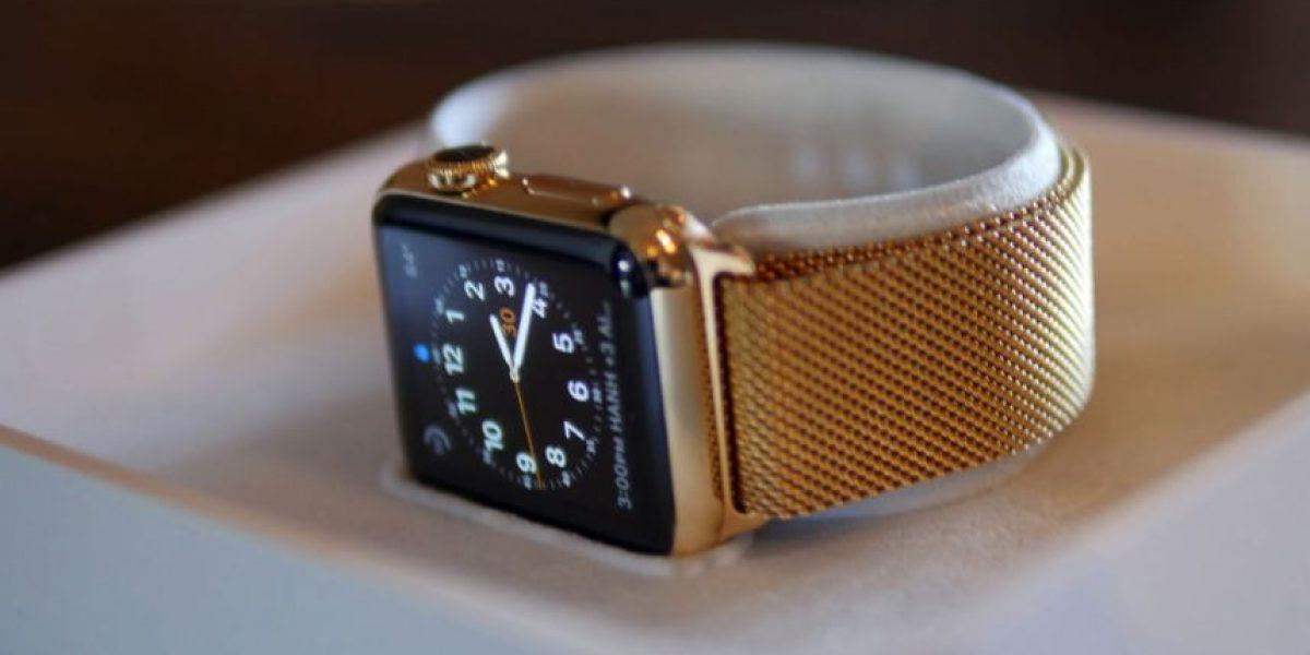Joyeros convertirán su Apple Watch en uno de oro por menos precio