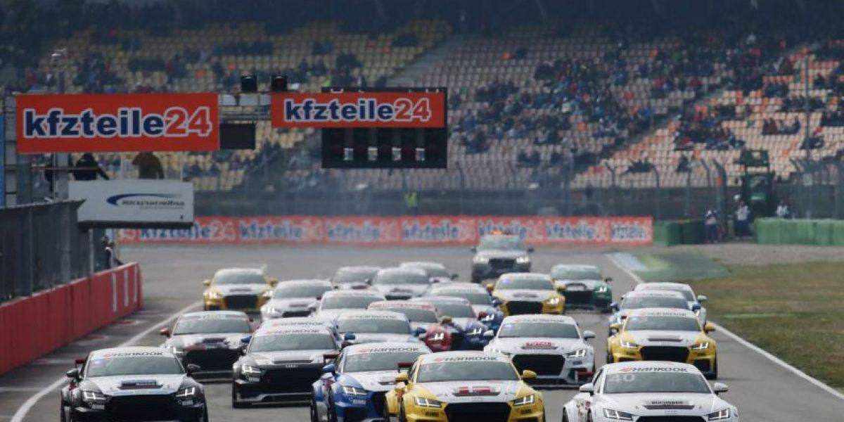 Debutó la Copa Audi Sport TT en Alemania