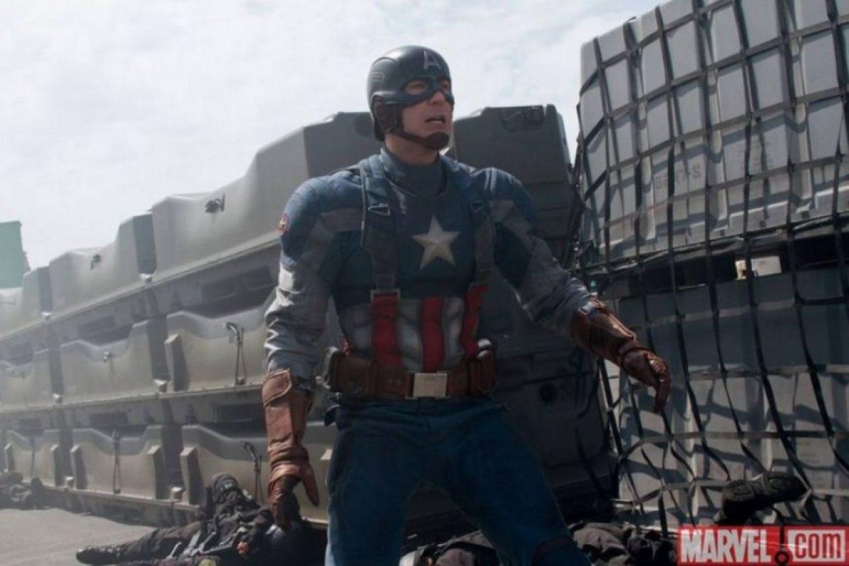 """Así como """"Black Widow"""" y """"Hawkeye"""". Foto:Facebook/CaptainAmerica"""