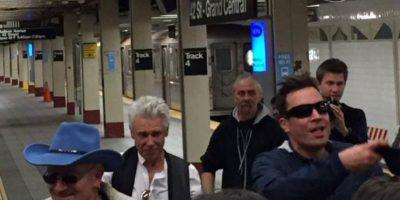 Por supuesto, Jimmy Fallon estuvo presente. Foto:vía Instagram
