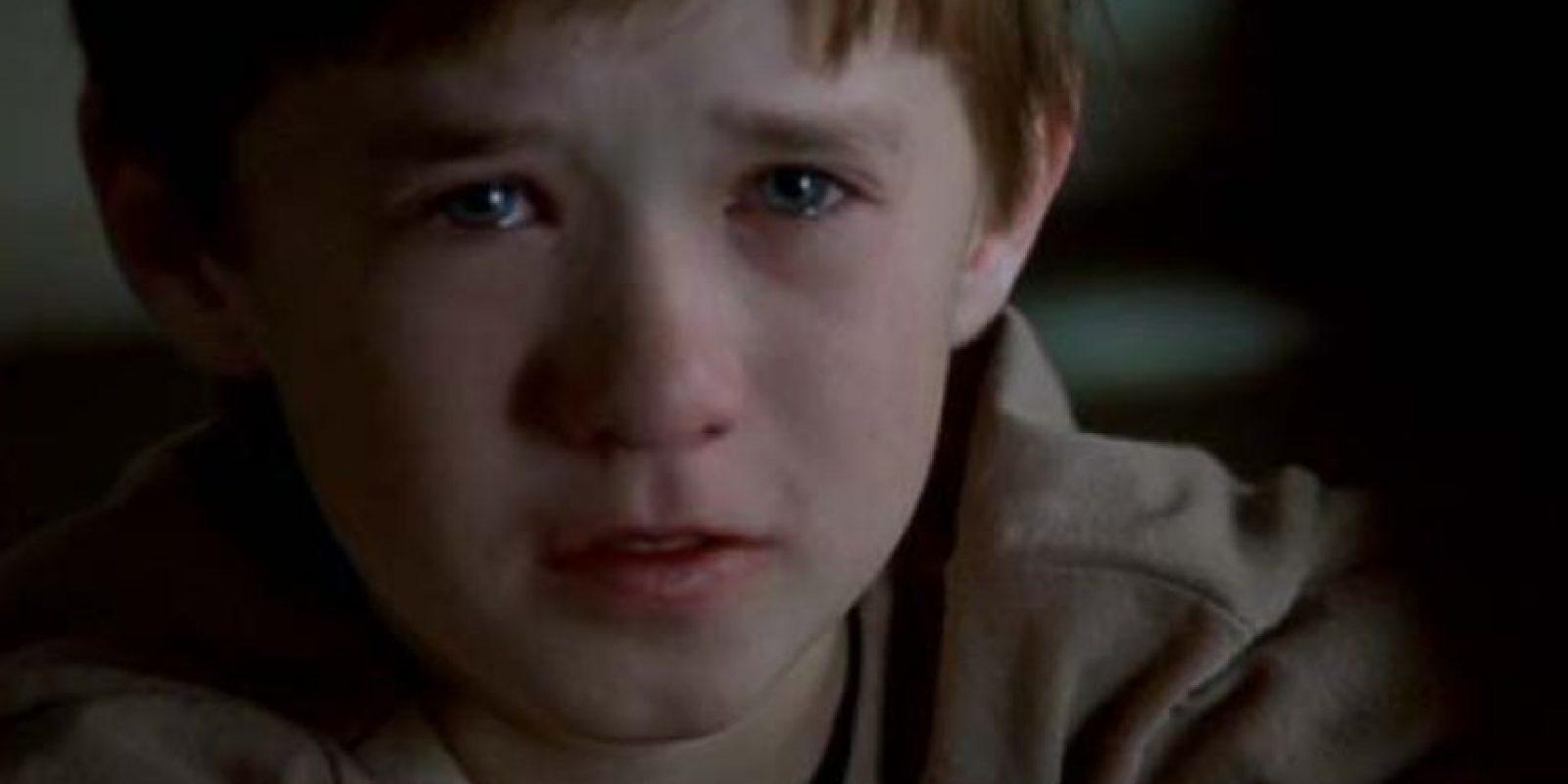 """Haley Joel Osment se hizo famoso por """"El Sexto Sentido"""" e """"Inteligencia Artificial"""". Foto:vía BuenaVista"""