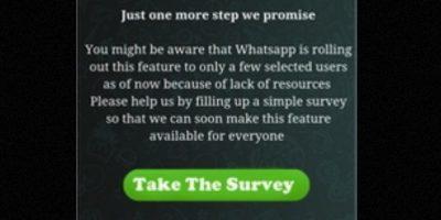 Ofrece a los usuarios obtener la opción de llamadas gratuitas siempre y cuando inviten a 10 de sus amigos a unirse Foto:Twitter