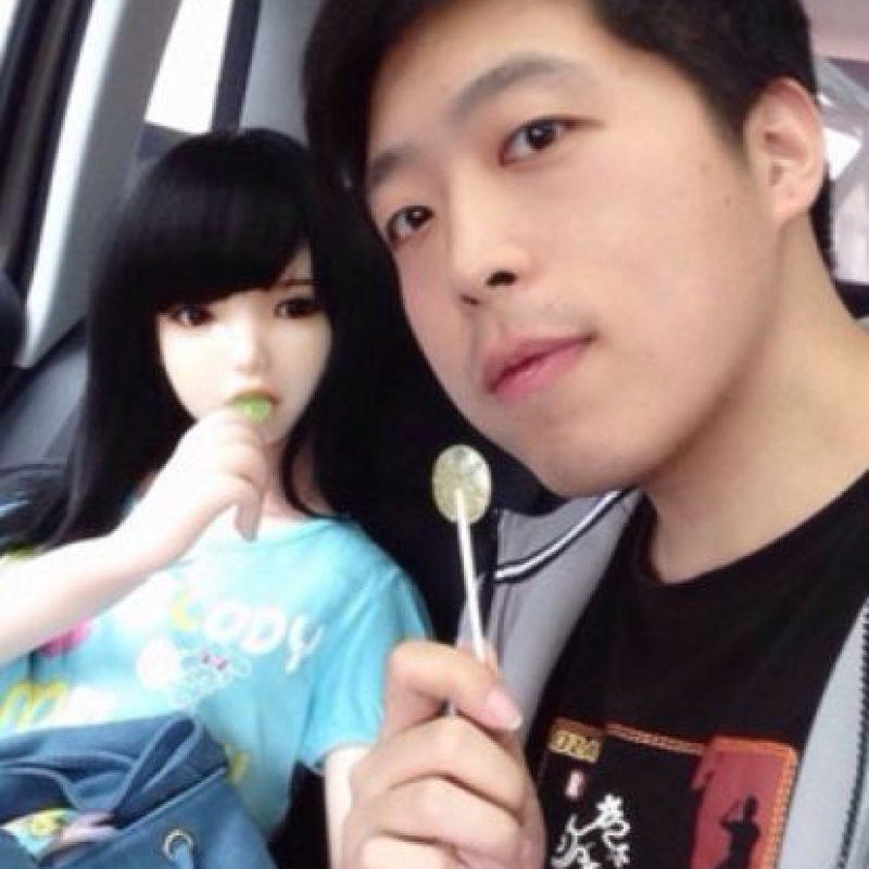 La muñeca mide 1.45 centímetros Foto:Vía Weibo/Bo Song