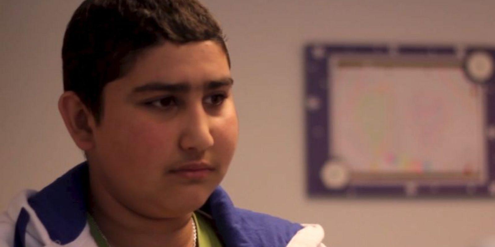 Mateo es un niño uruguayo que sufre cáncer. Foto:Vía Youtube Fundación Pérez Scremini