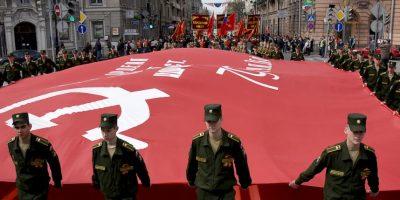 El Día de la Victoria no fue conmemorado de modo generalizado en la URSS hasta después de veinte años. Foto:Getty Images