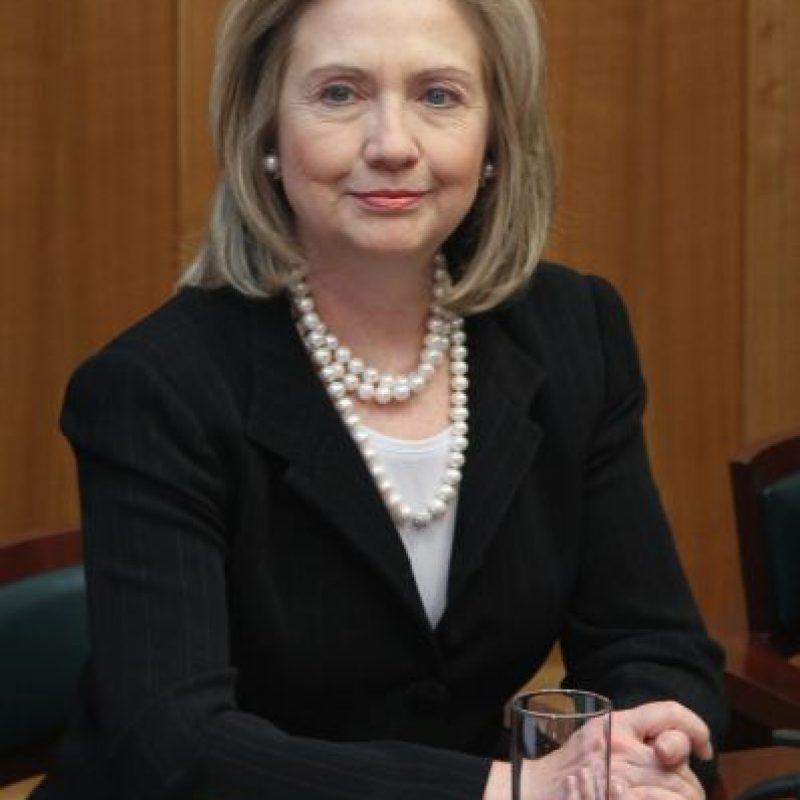 La exsenadora y exsecretaria de estado se convirtió en abuela el año pasado de Charlotte, su primera nieta. Foto:Getty Images