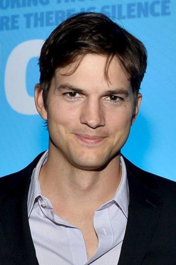 Ashton Kutcher – actor estadounidense. Foto:Getty Images