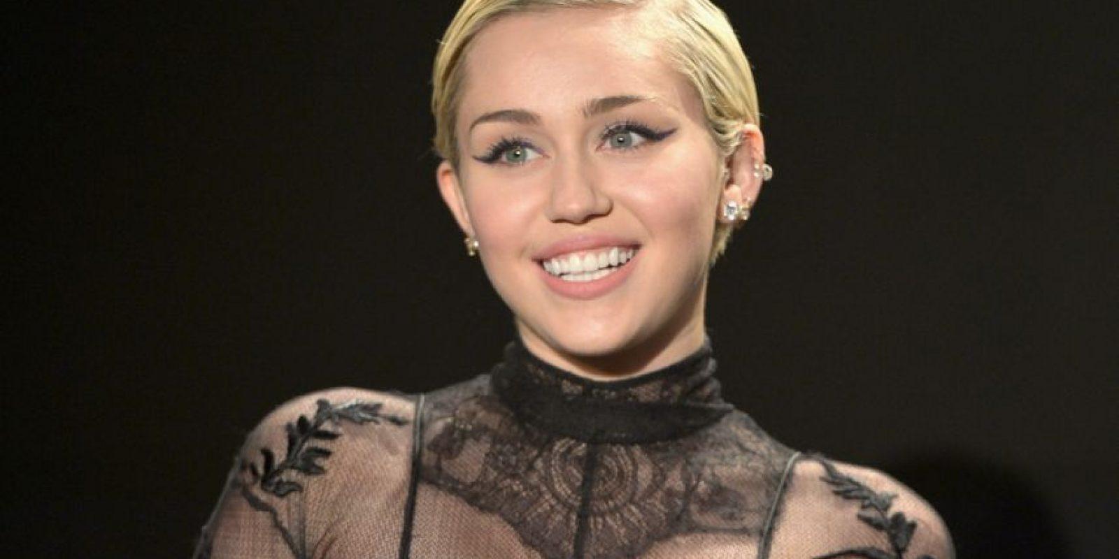 Miley Cyrus – cantante estadounidense. Foto:Getty Images