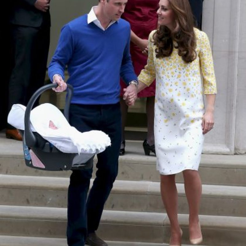 Para registrar a la princesa el duque tuvo que esperar a que la reina Isabel autorizara el nombre. Foto:Getty Images