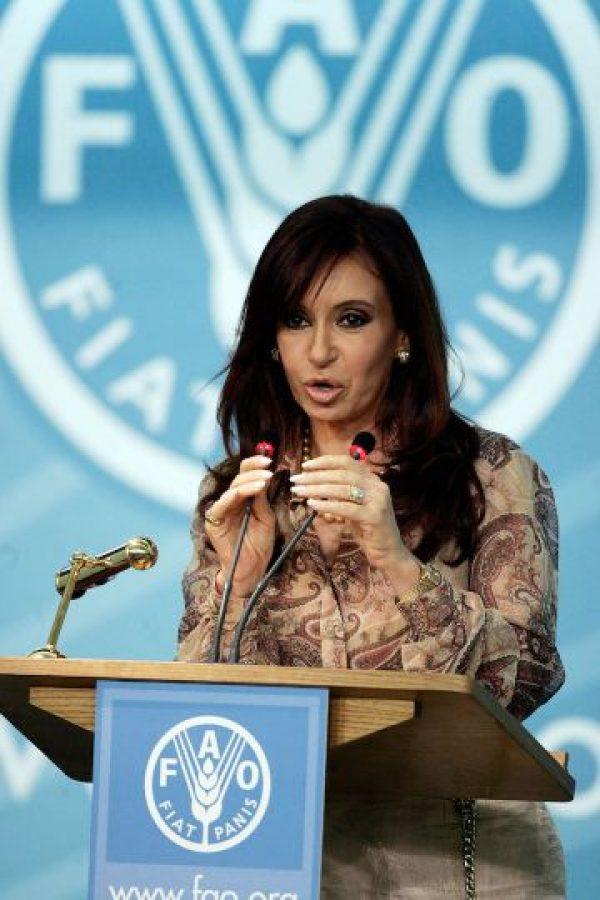 Cristina Fernández Foto:Getty Images