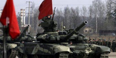 El 9 de mayo es día festivo en Rusia, Ucrania y en la mayoría de antiguas repúblicas soviéticas. Foto:Getty Images