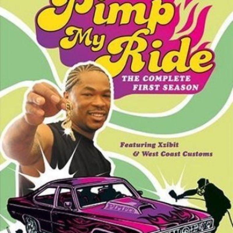 """También conocido como """"Enchúlame la máquina. El anfitrión del show fue el rapero Xzibit, quien tomaba autos en pésimas condiciones para modificarlos y convertirlos en verdaderas obras de arte sobre ruedas. Foto:IMDB"""