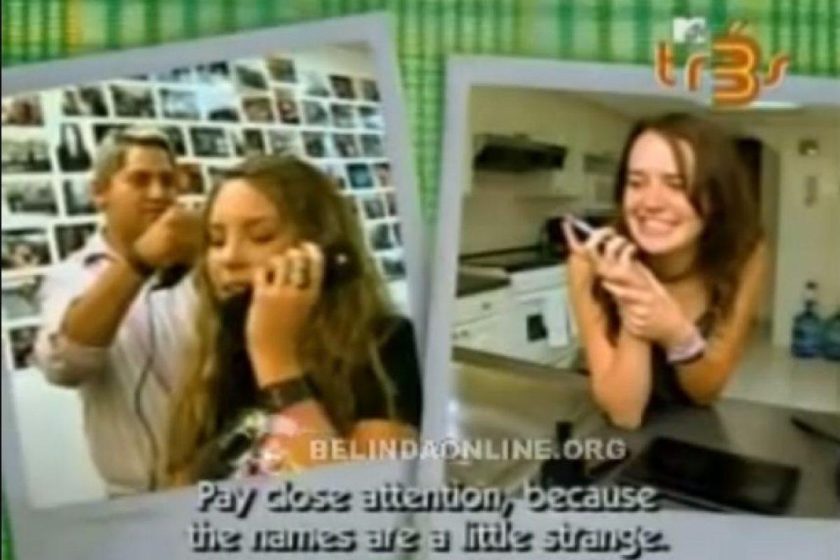Belinda Foto:YouTube