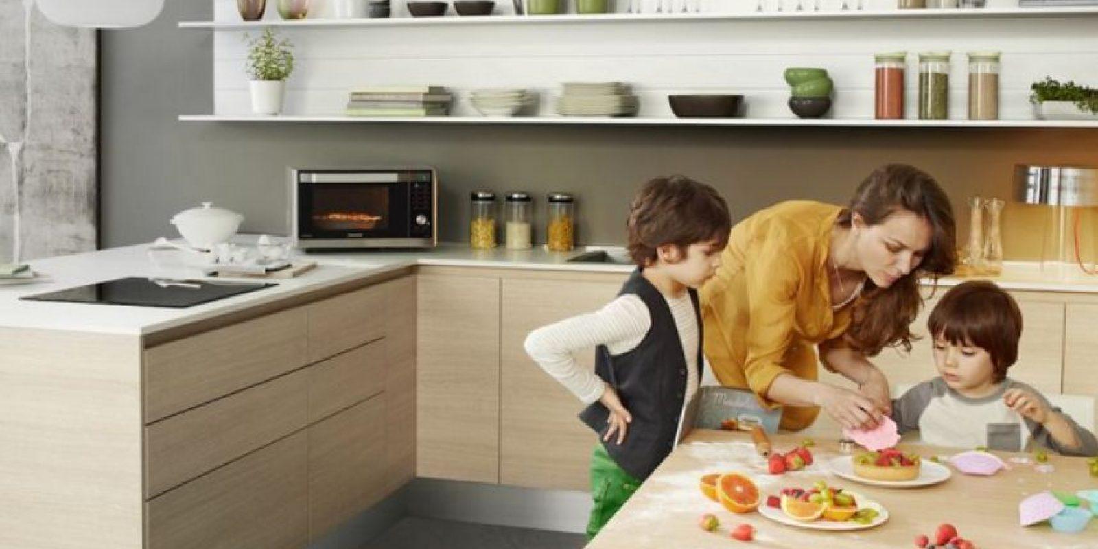 Samsung y Publimetro les regalan dos hornos microondas para celebrar el Día de la Madre. Foto:Reproducción.