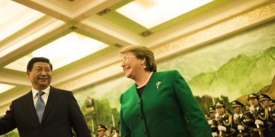 La presidenta de Chile, Michelle Bachelet Foto:vía Getty Images