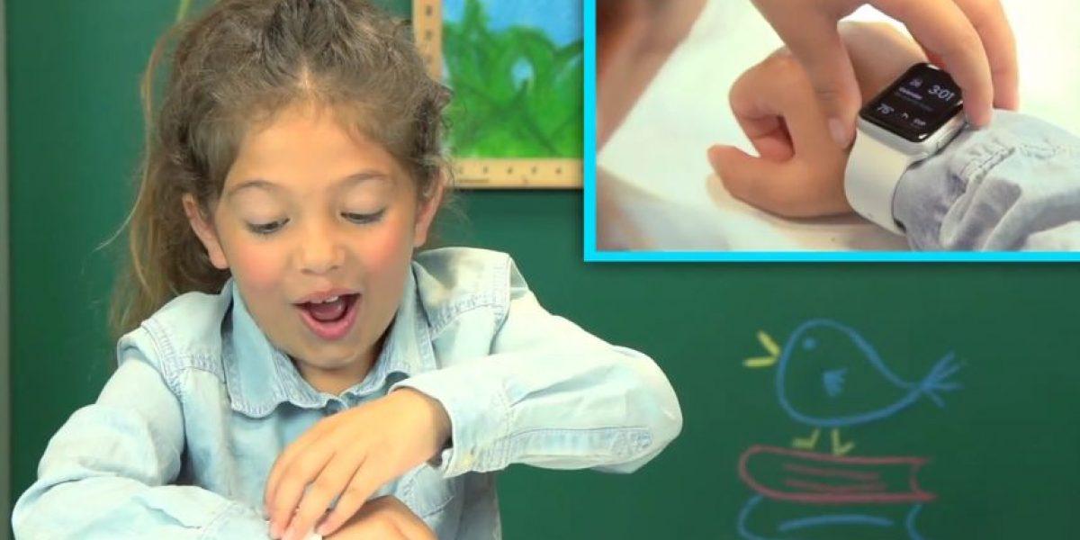 VIDEO: Así reaccionan estos niños con el Apple Watch