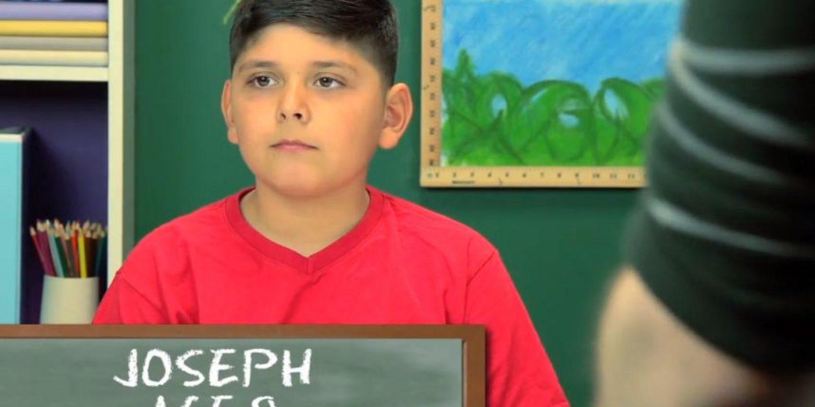 Joseph, 9 años Foto:TheFineBros