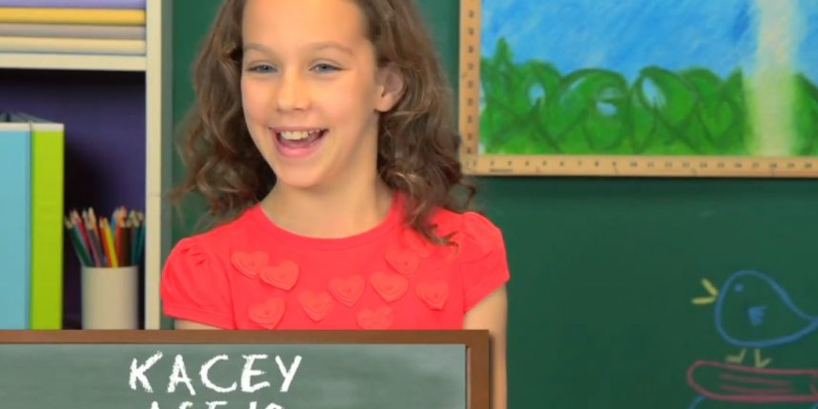 Kacey, años 10 Foto:TheFineBros