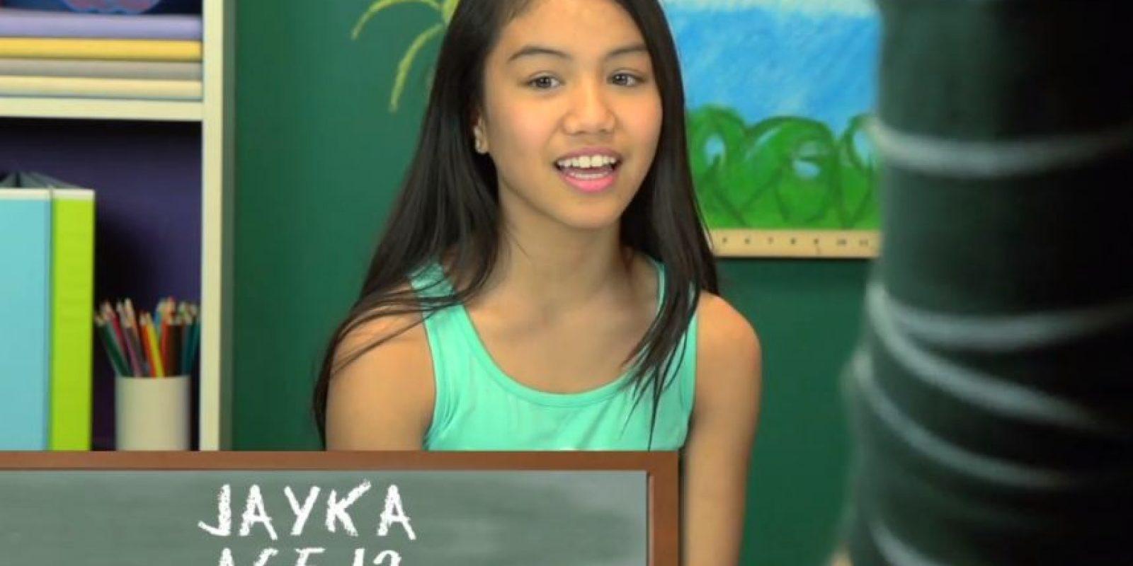 Jayka, 12 años Foto:TheFineBros