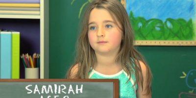 Samirah, 9 años Foto:TheFineBros