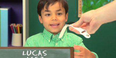 Lucas, 7 años Foto:TheFineBros