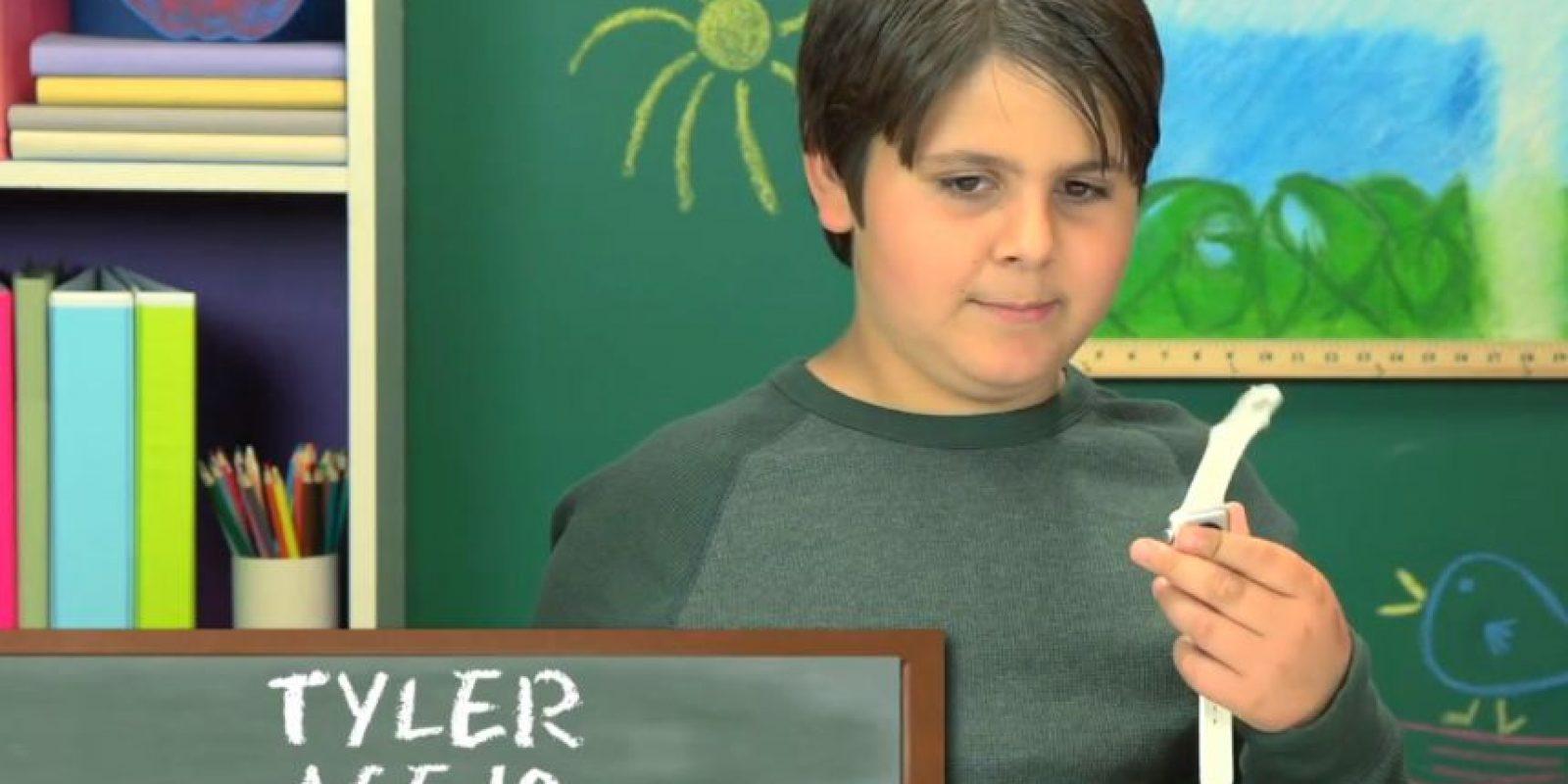 Tyler, 10 años Foto:TheFineBros