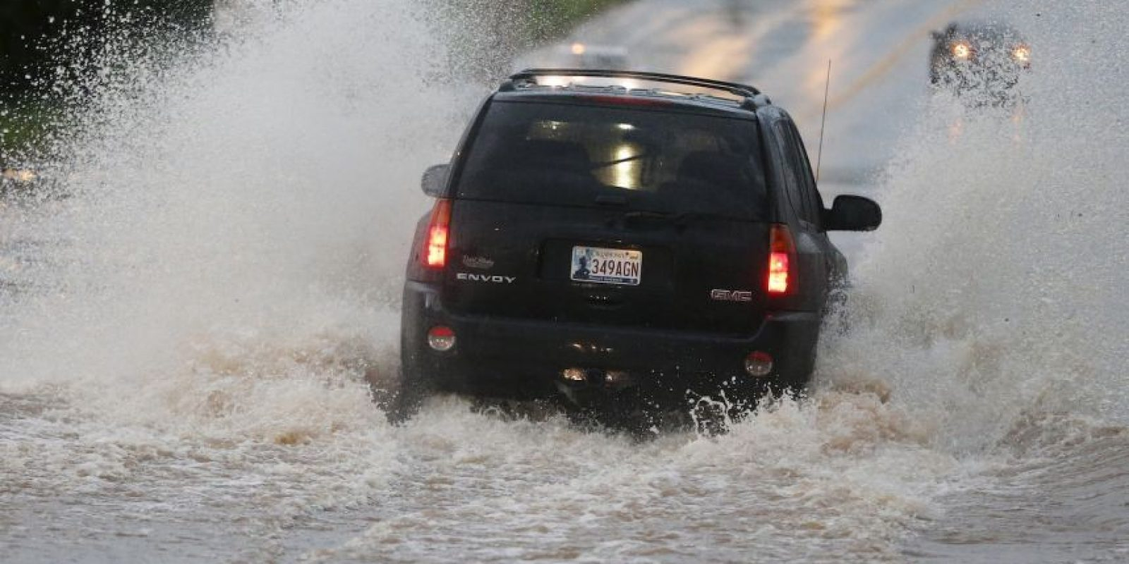 El Servicio Meteorológico emitió una emergencia de tornado Foto:AP
