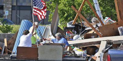 Maria Fallin declara Oklahoma en estado de emergencia. Foto:AP