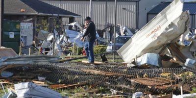 El Aeropuerto Internacional Will Rogers en la ciudad de Oklahoma fue evacuado. Foto:AP