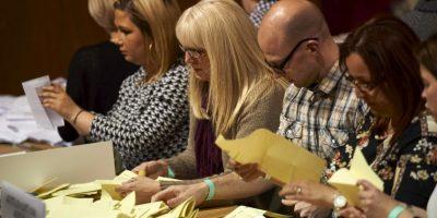 Se lleva acabo el conteo de las votaciones Foto:AFP