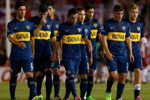 """En tanto, los """"Millonarios"""" eliminaron a su archirrival en semifinales de la Copa Sudamericana en 2014, para luego terminar coronándose campeones de este certamen. Foto:Getty Images"""