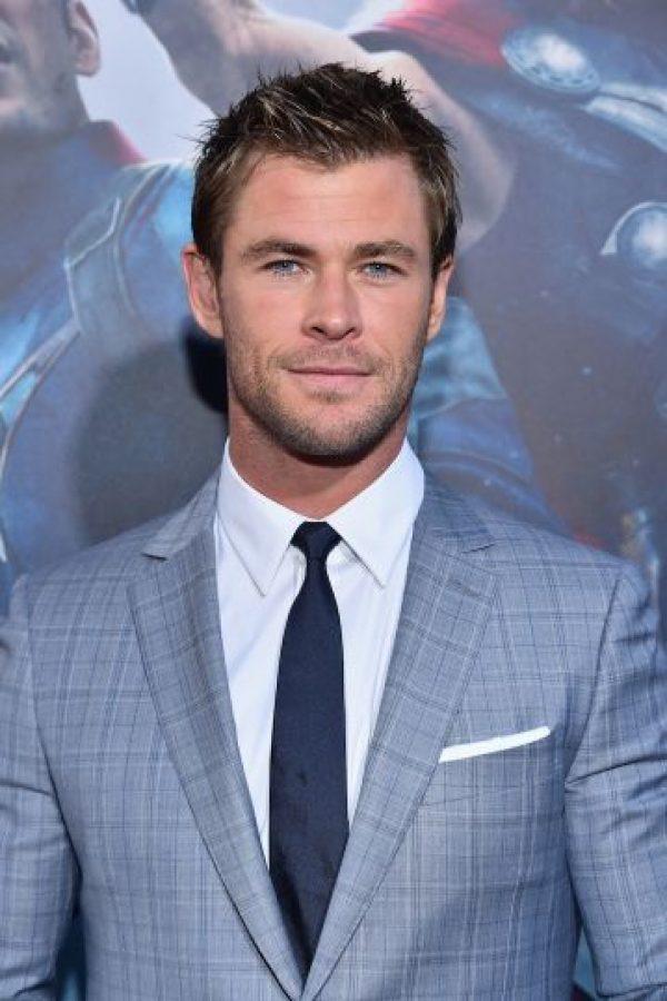 El rumor de que Chris Hemsworth podría aparecer desnudo ha terminado. Foto:Getty Images