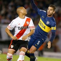 Durante el partido, Boca Juniors perdió a Daniel Díaz por lesión. Foto:Getty Images
