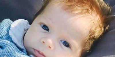 Sasha es el segundo hijo de la colombiana y de Gerard Piqué Foto:Instagram/Shakira