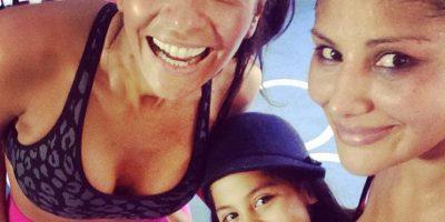 La boxeadora mexicana se convirtió en mamá a los 27 años Foto:Vía instagram.com/barbyjuarez