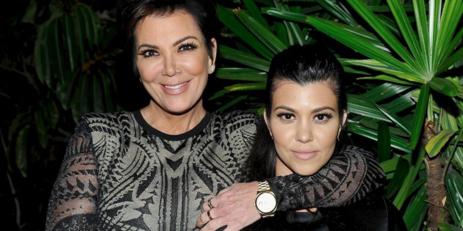 Al parecer, la mayor de las Kardashian heredó los rasgos de su mamá Foto:Getty Images