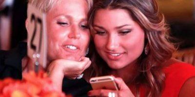 """Además de belleza, la famosa cantante latina """"Xuxa"""" le heredó su belleza a su hija Foto:vía facebook.com/sashameneguel"""