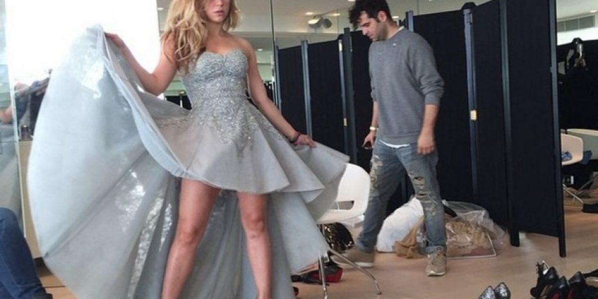 Shakira presume cuerpazo a pocos meses de convertirse en madre