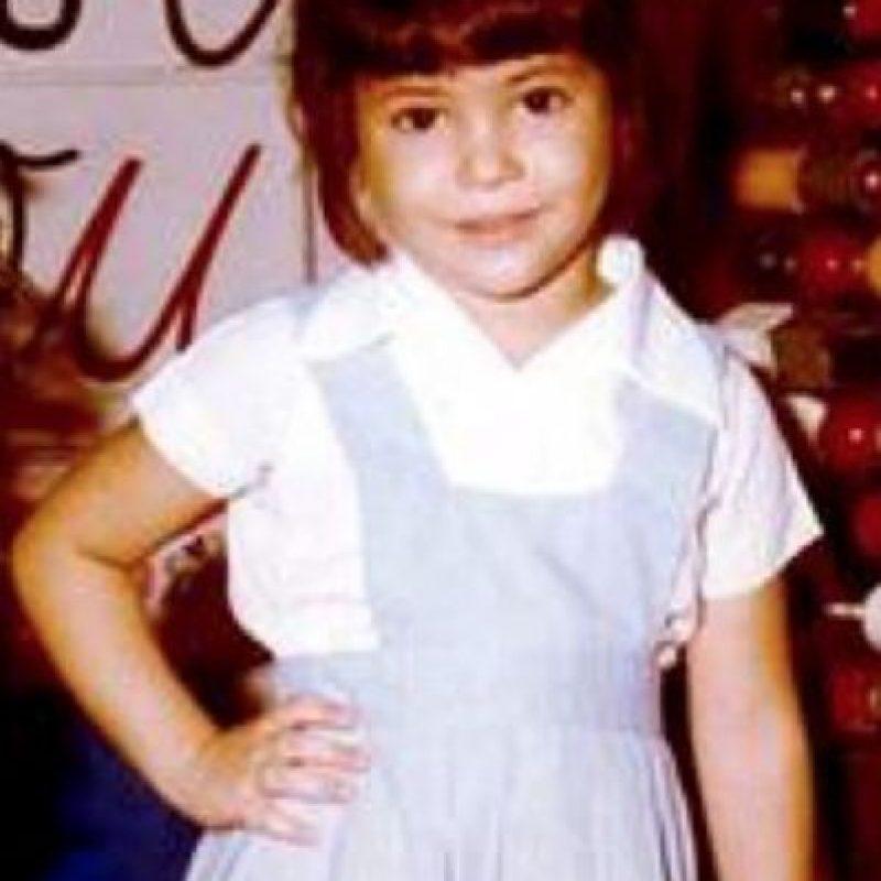 Y aquí tenemos a Shakira cuando era una niña. Foto:vía instagram.com/shakira