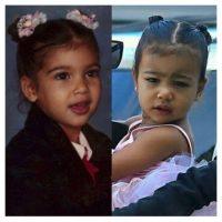 """Kim a la izquierda y """"Nori"""" a la derecha Foto:vía instagram.com/kimkardashian"""