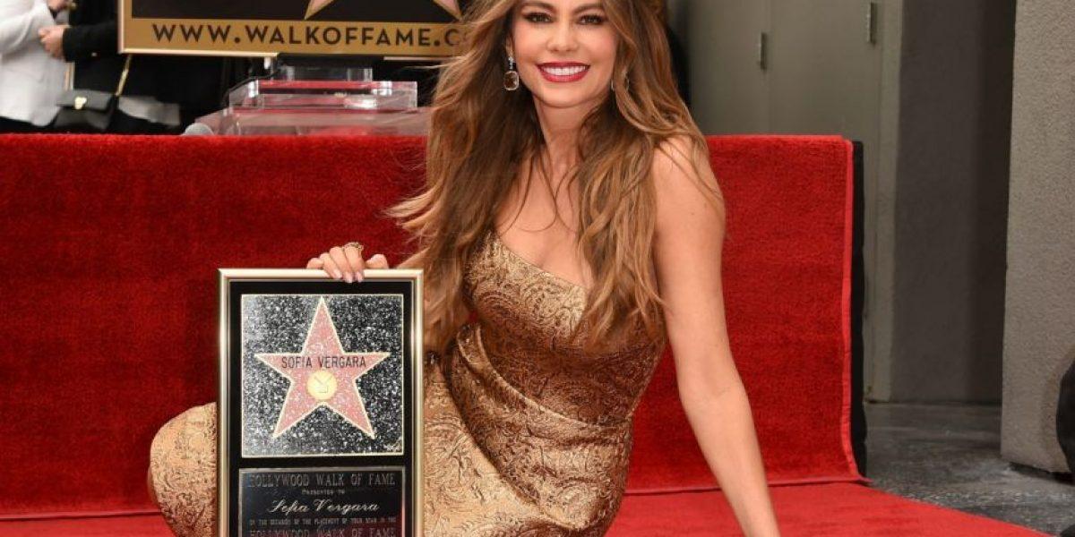 A la colombiana, así celebró Sofía Vergara su estrella