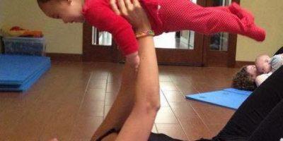 4. Ejercicios con el bebé Foto:Vía instagram.com/mamifitmadrid