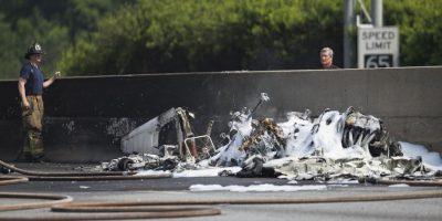 Los cuatro tripulantes fallecieron. Foto:AP