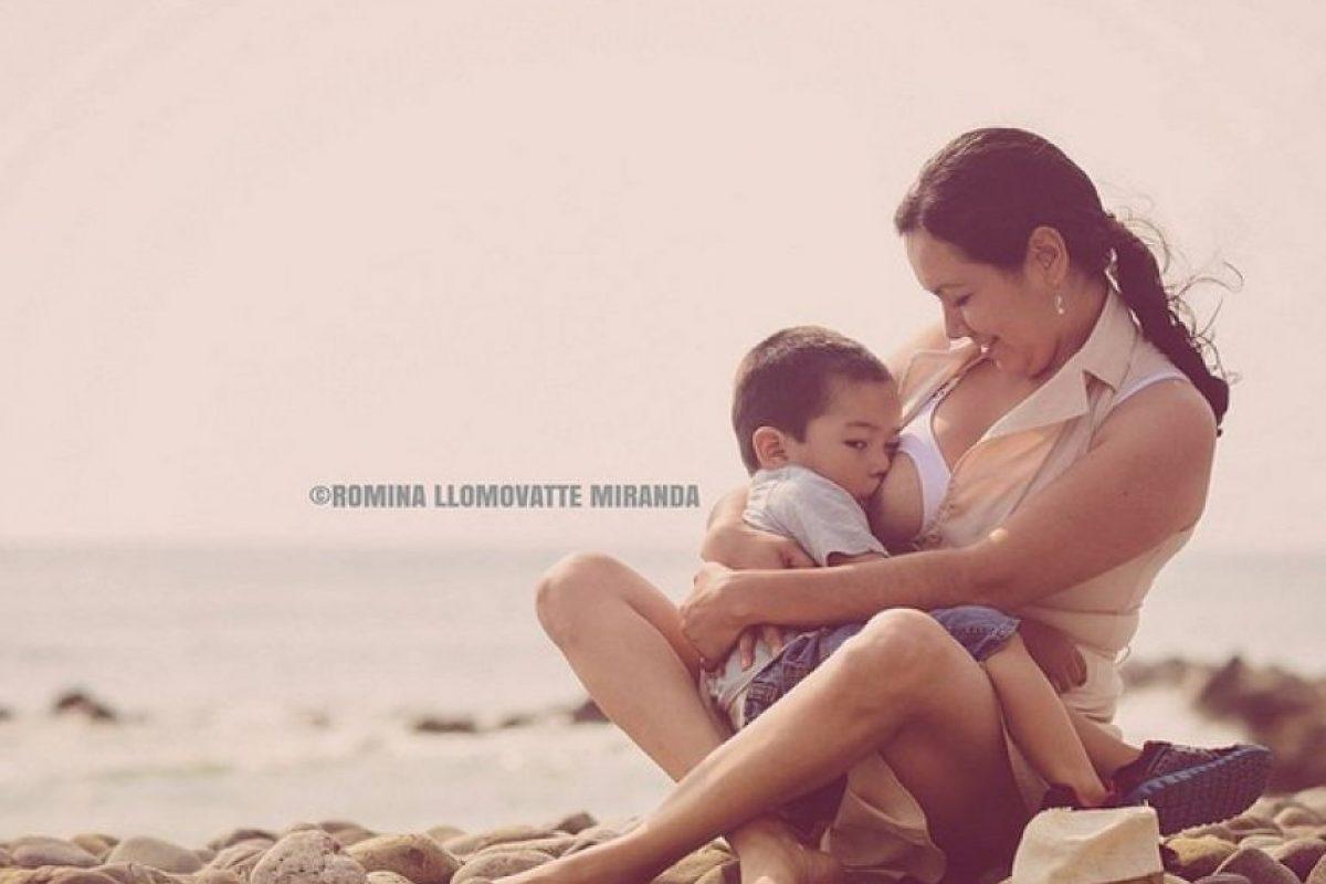 A lo largo de las semanas, las mamás podrán experimentar la pérdida de peso mientras alimentan a sus hijos. Foto:Vía instagram.com/romilovephotography