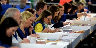 Cerca de 40 millones de votantes británicos participaron en las elecciones. Foto:Getty Images