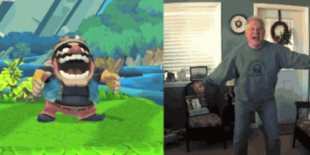 VIDEO: Este hombre imitó a los personajes de Nintendo