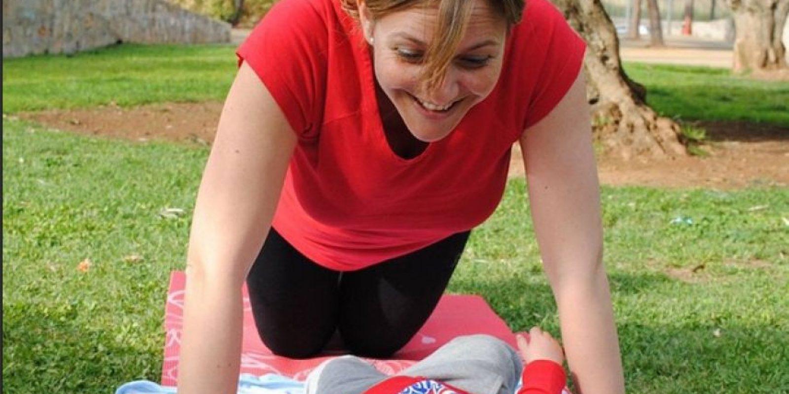 2. Gimnasia abdominal hipopresiva Foto:Vía instagram.com/mamifit.es